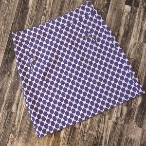 Ann Taylor Loft size 2 Small dressy pattern skirt
